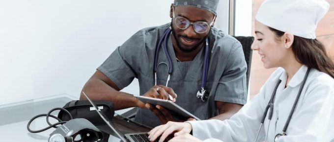 two student doctors - Why You Should Study Medicine In The Caribbean