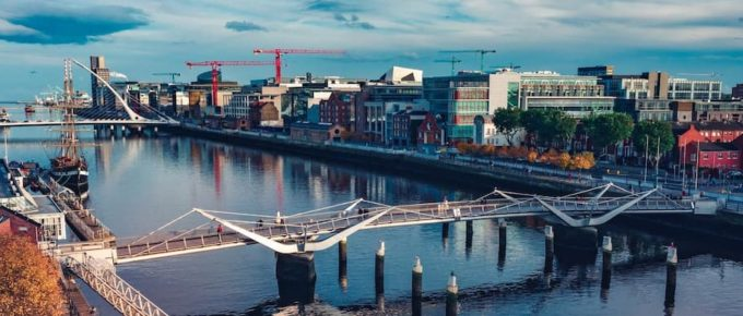 Aerial Dublin. Higher Education In Ireland